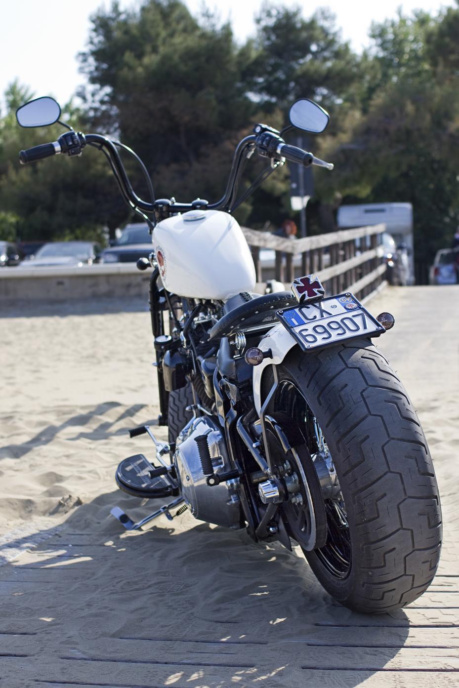 Harley Night Train >> Cross Bones | Rust Never Dies